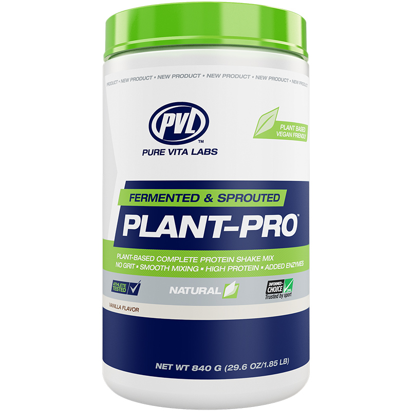 PVL Pure Vita Labs Fermented & Sprouted Plant-Pro