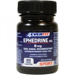 4Ever Fit Ephedrine HCL Pure 8mg (Oral Nasal Decongestant)