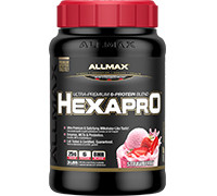 Allmax Nutrition HEXAPRO - Strawberry (Best Before 03/2021)