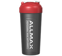 Allmax Nutrition Deluxe Shaker Cup - Black/Red