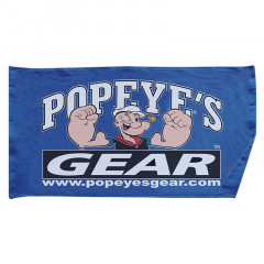 "Popeye's GEAR Gym Towel ""Oversized"" - Blue"