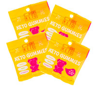 Kiss My Keto Keto Keto Gummies *4 PACK!*