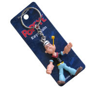 "Popeye's GEAR Bendable Key Chain ""Popeye"""