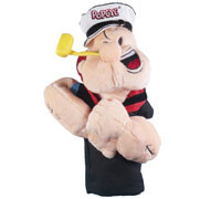 Popeye's GEAR Driver Golf Covers - Popeye