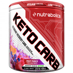 Nutrabolics Keto Carb - Fruit Punch