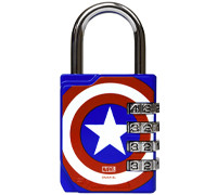 PERFORMA Premium Combination Lock Marvel Collection -  Captain America