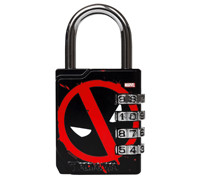 PERFORMA Premium Combination Lock Marvel Collection - Deadpool