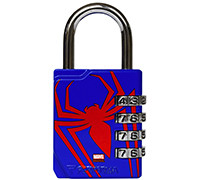 PERFORMA Premium Combination Lock Marvel Collection - Spider-Man