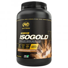 PVL Gold Series Iso-Gold Premium Isolated Whey Protein - Chocolate Peanut Butter Smash