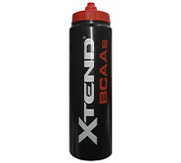 Scivation XTEND BCAA's Water Bottle - Black/Red