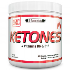 SD Pharmaceuticals Ketones + Vitamins B6 & B12 - Natural/Unflavoured